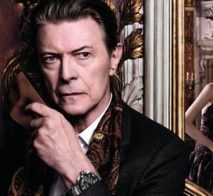 """David Bowie et Arizona Muse voyagent à Venise dans la dernière """"Invitation au Voyage"""" de Louis Vuitton."""