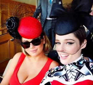 Kate Utpon et Coco Rocha, deux jolies jeunes femmes.