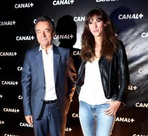 Doria Tillier et Michel Denisot l'ancien patron du Grand Journal.