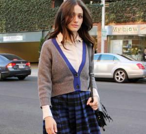 Emmy Rossum, canon en lycéenne américaine... A shopper !