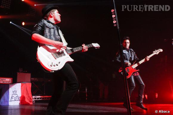 Les Fall Out Boy monteront aussi sur le podium.