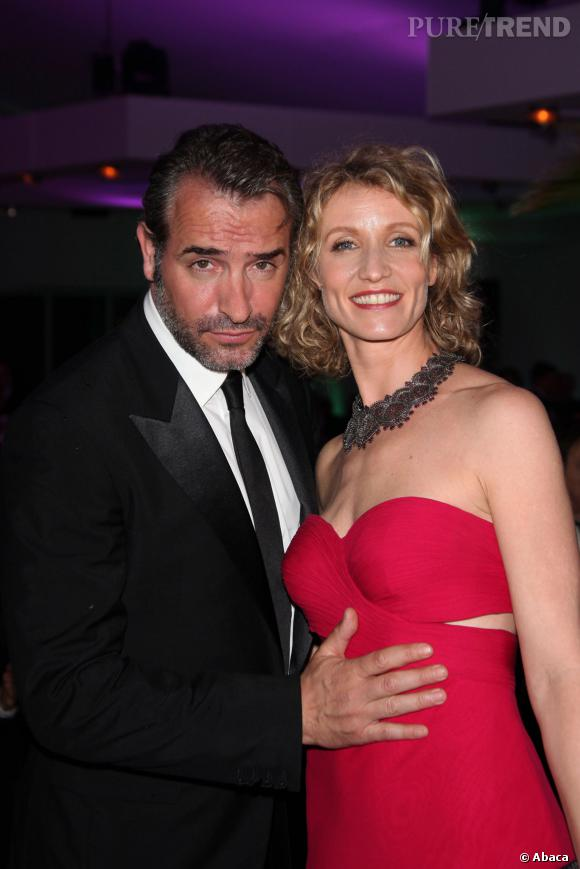 Jean dujardin et alexandra lamy officiellement s par s l for Jean dujardin couple 2014