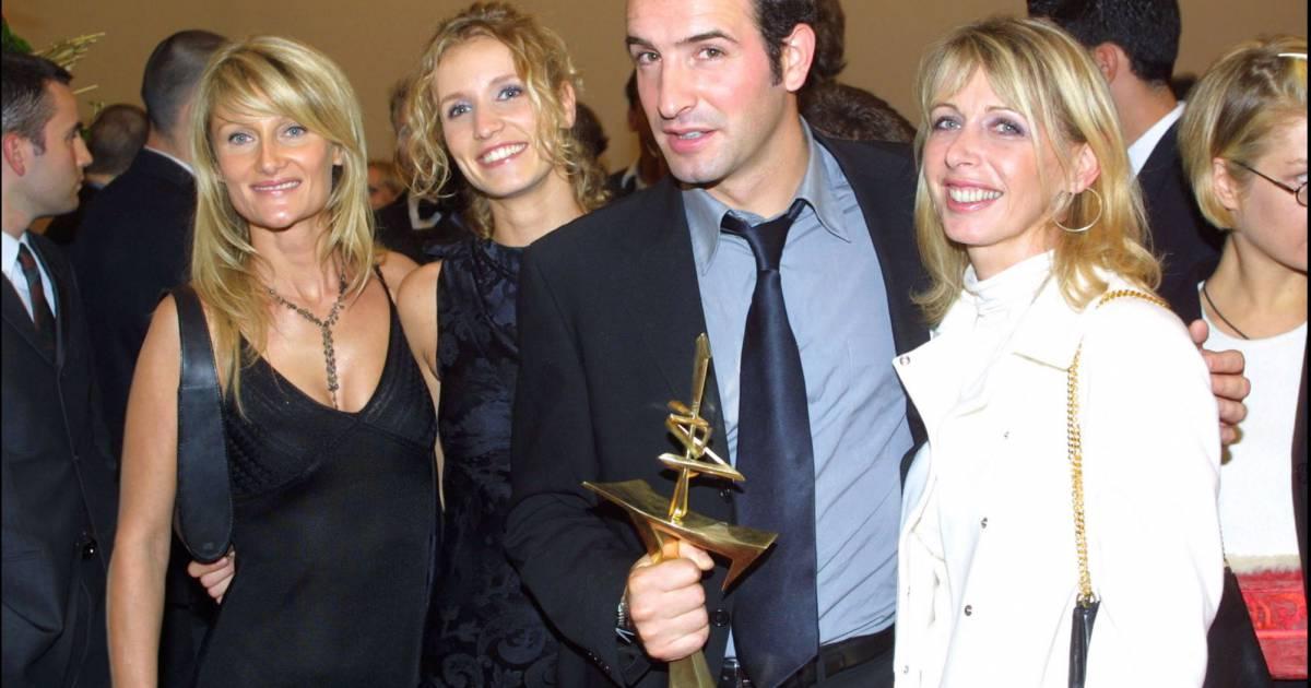 Jean dujardin et alexandra lamy lors d 39 une de leur for Jean dujardin en couple