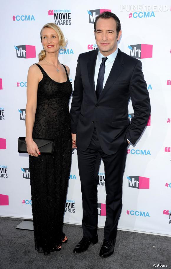 Jean Dujardin et Alexandra Lamy, des Français très à l'aise à Hollywood ?