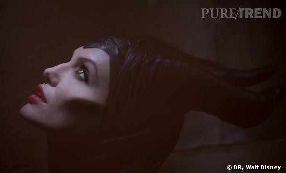 """Angelina Jolie version """"Maléfique"""", la première photo dévoilée il y a quelques mois."""