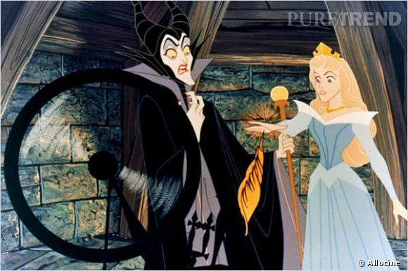 Maléfique de la Belle au Bois Dormant dans le Disney.