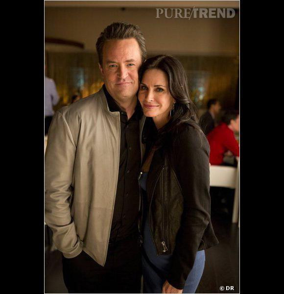 """Courteney Cox et Matthew Perry se retrouveront dans un épisode de """"Cougar Town"""" saison 5 !"""