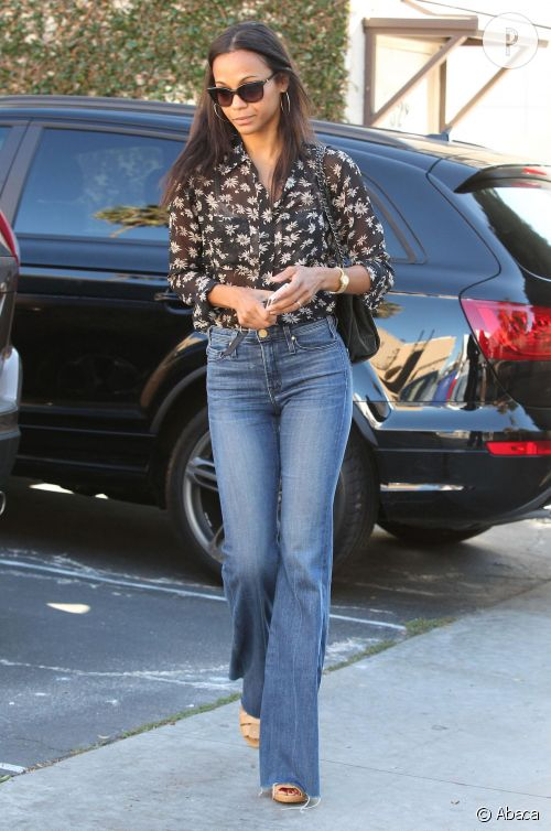 zoe saldana allure 70 39 s pour l 39 actrice de blood ties a shopper. Black Bedroom Furniture Sets. Home Design Ideas