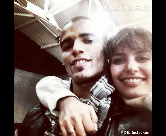 Laetitia Milot et Brahim Zaibat, complices.