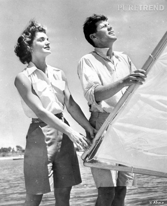 Jackie Kennedy une icône de l'Amérique des 60's.