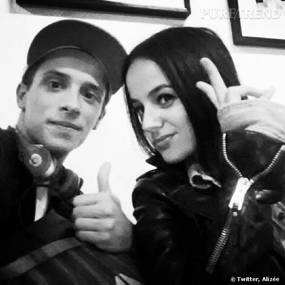 """Depuis le début de l'émission """"Danse avec les Stars"""", Alizée et Grégoire Lyonnet semble être devenus très proches."""