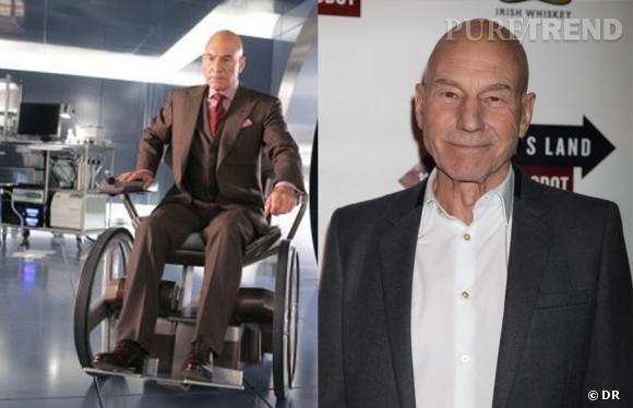 Patrick Stewart n'a pas eu besoin de se transformer beaucoup pour le rôle de Professeur X !