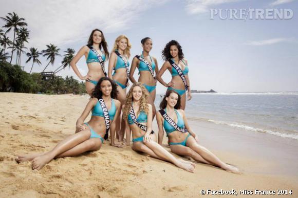 Miss Pays de Loire, Martiique, Normandie... Toutes en bikini !