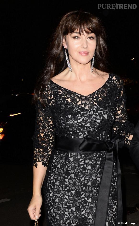 Monica Bellucci à la soirée Cartier, une célibataire sexy !