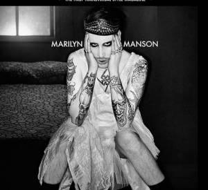 Marilyn Manson en couverture du magazine Candy.