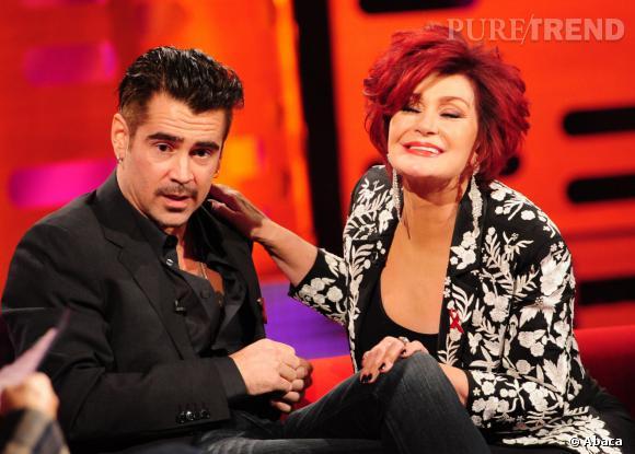 Sharon Osbourne vient de faire sa révélation sous les yeux médusés de Colin Farrell.