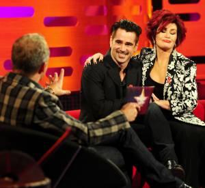 Sharon Osbourne l'a promis à Colin Farrell : elle lui montrera à quoi ça ressemble un lifting du vagin.