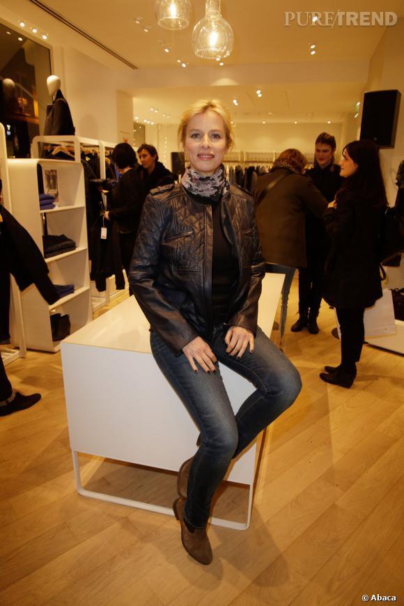 Karine viard lors de l 39 ouverture de la nouvelle boutique comptoir des cotonniers rue des francs - Boutiques comptoir des cotonniers ...