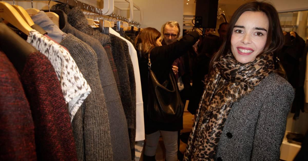 Elodie bouchez fait son shopping lors de l 39 ouverture de la nouvelle boutique comptoir des - Boutiques comptoir des cotonniers ...