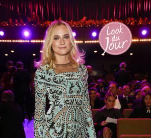 Diane Kruger en robe transparente : terriblement sensuelle aux EFA à Berlin