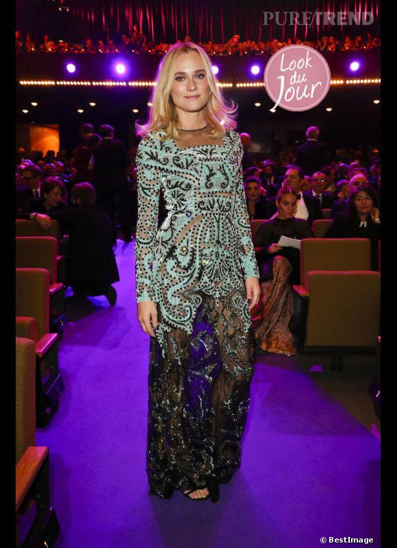 Diane Kruger aux European Film Awards à Berlin.