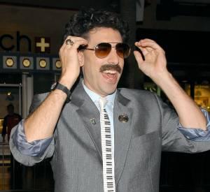 Sacha Baron Cohen et sa superbe moustache lorsqu'il incarnait son personnage Borat.