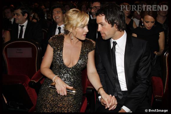 Kate Winslet et Ted Rock'n'roll sont les heureux parents d'un petit garçon.
