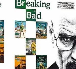 """Le DVD : """"Breaking Bad"""", intégral des saison 1 à 5 - première partie. Le Prix : 79.99 €. Pour qui ? Son petit(e)-ami(e) ou ses amis, ce coffret plaira à coup sûr. En même temps, Breaking Bad est une des meilleures séries de ces derniers temps donc forcément..."""