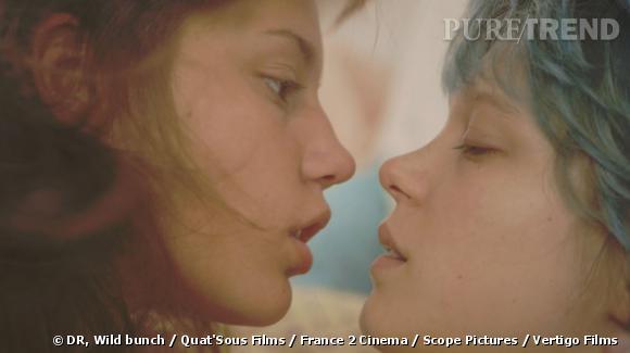 """""""La Vie d'Adèle"""" nominé dans le meilleur film étranger aux Golden Globes 2014."""
