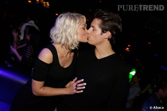 Caroline Receveur et Valentin à la soirée Hollywood Girls 3 : un couple toujours plus complice.