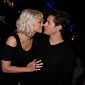 Caroline Receveur et Valentin à la soirée Hollywood Girls 3, le mariage c'est pour bientôt !