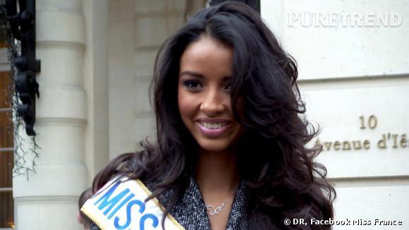 Flora Coquerel, 19 ans a été élue Miss France. D'origine béninoise et togolaise, ce qui ne plait pas à tout le monde.