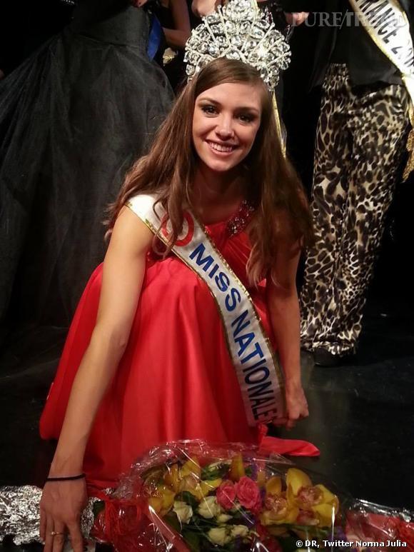 Norma Julia, élue Miss Nationale le 14 décembre dernier.