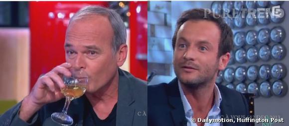 """Laurent Baffie règle ses comptes avec Jérémy Michalak en plein direct dans """"C à Vous"""", sur France 5."""