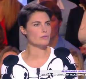 """Extrait de l'émission d'hier de """"Touche pas à mon poste"""" sur D8 avec Alessandra Sublet."""