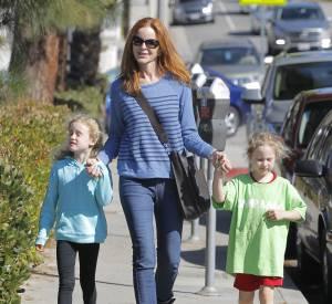 En dehors de plateaux télé, Marcia Cross est une maman comblée de jumelles.