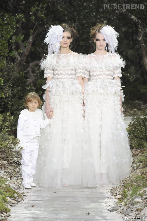 Défilé Chanel Haute Couture Printemps-Eté 2013
