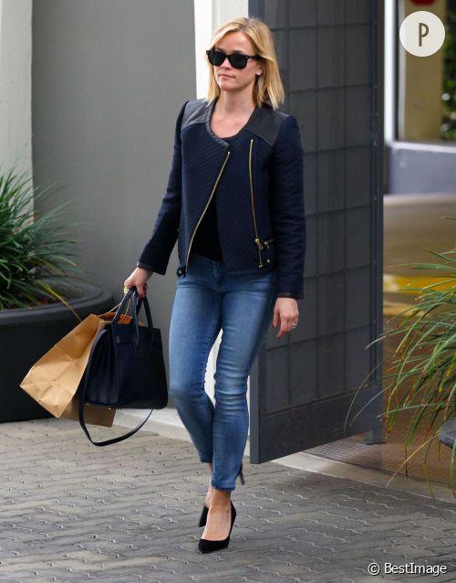 Reese Witherspoon, l'une des mamans les plus lookées d'Hollywood.