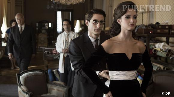 Pierre Niney et Charlotte Le Bon, dans le biopic de Jalil Lespert, Yves Saint Laurent.