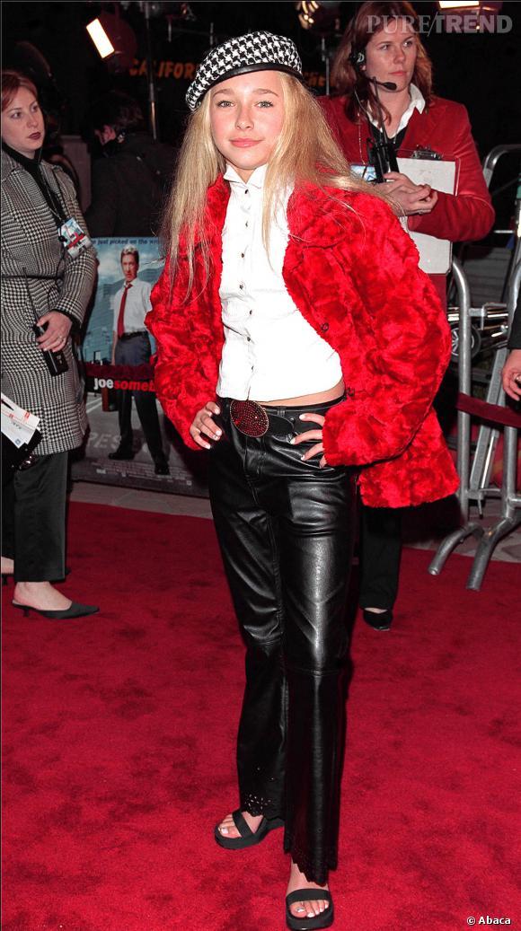 Hayden Panettiere, discrétion incarnée à ses débuts.