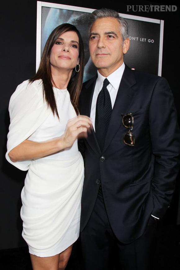 Sandra Bullock et Geoge Clooney, un duo inséparable.