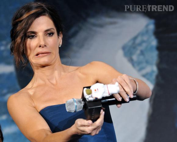 Sandra Bullock s'est googlisée, mal lui en a pris...