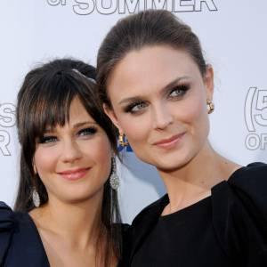 Zooey Deschanel (33 ans) et Emily Deschanel (37 ans), stars du petit écran.