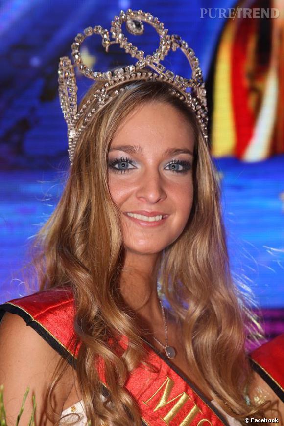Laurence Langen, gagnante de Miss Belgique 2014 vivement critiquée pour son physique.