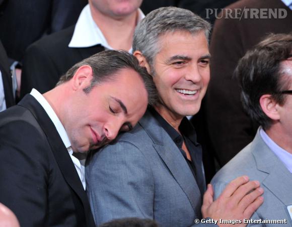 Jean Dujardin semble avoir fait forte impression sur George Clooney !