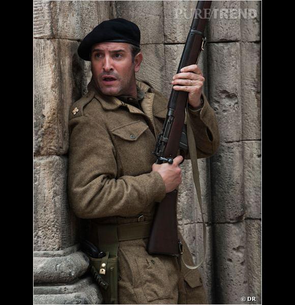"""Jean Dujardin joue dans """"Monuments Men"""", prévu en salles le 12 mars 2014."""