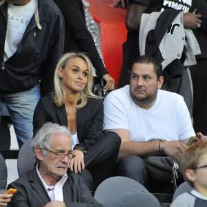 Encore et toujours supportrice du PSG pendant le match PSG - Valencienne en avril 2011.