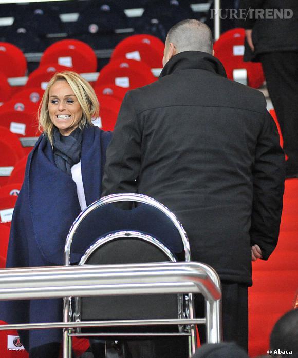 Le 24 novembre 2012, Cécile de Ménibus est radieuse : le PSG a gagné 4-0 contre Troyes.