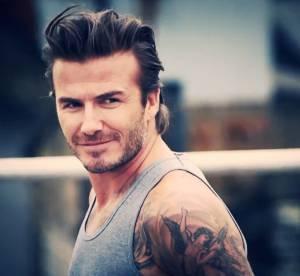 David Beckham - H&M : cascadeur super sexy pour le spot du Super Bowl 2014