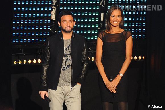 Cyril Hanouna et Karine Le Marchand.